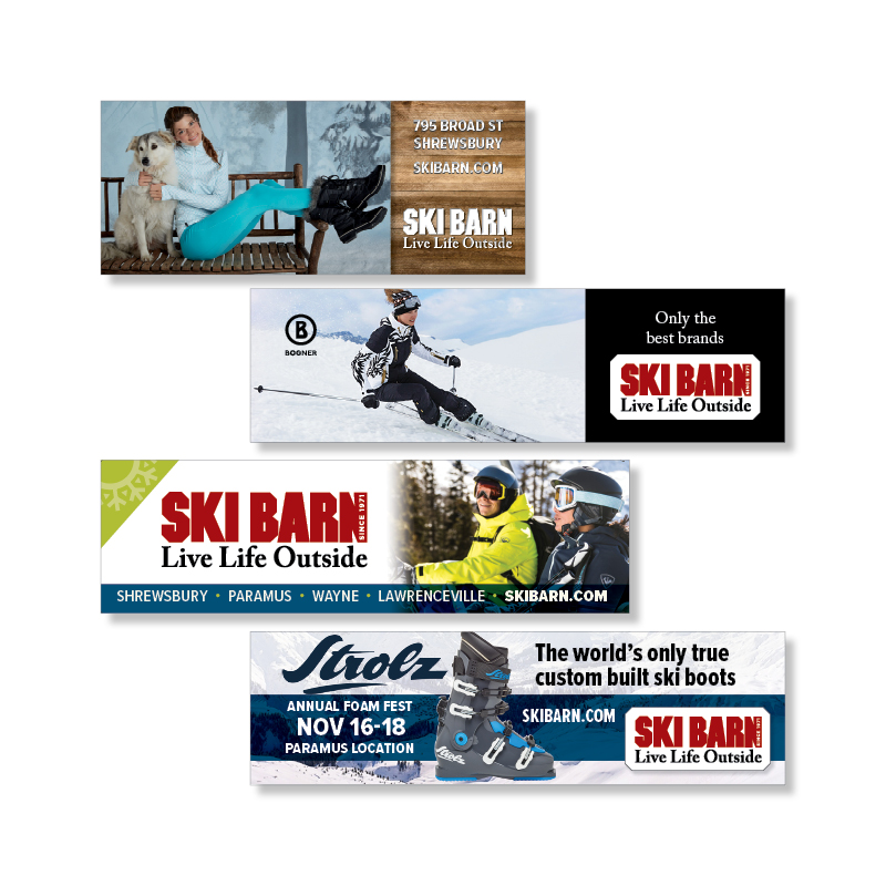 Ski Barn Billboards