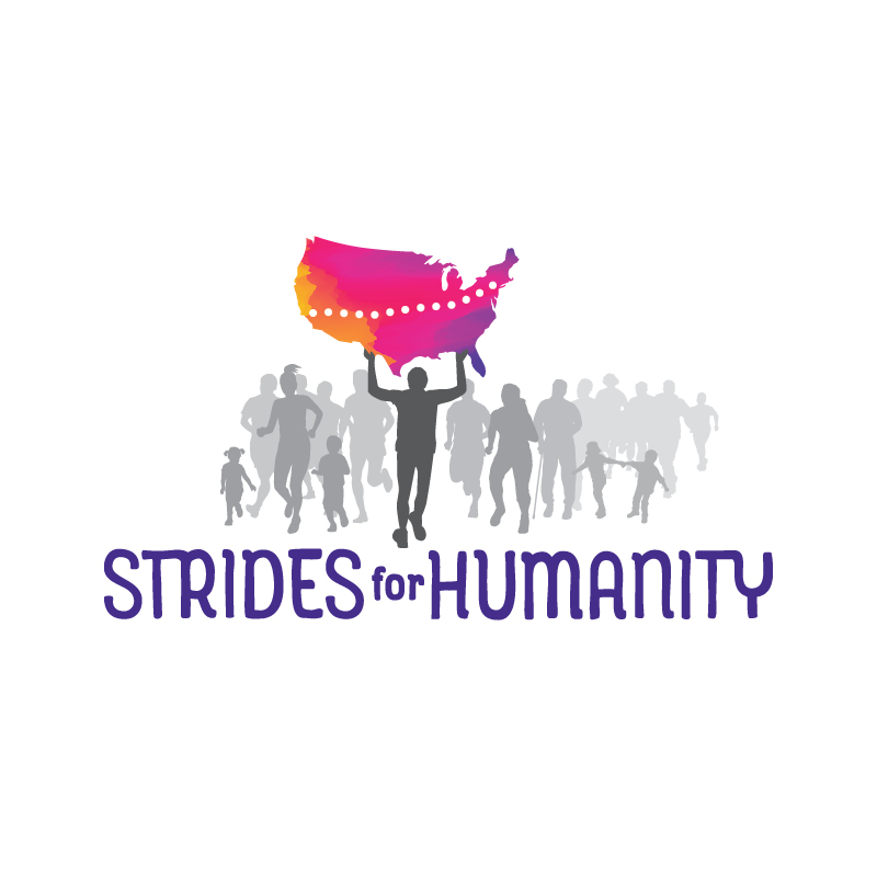 Strides for Humanity Logo